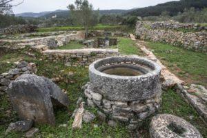 Kupinovik, Roman villa rustica in Stari Grad Plain [Photo: Bojan Brecelj]