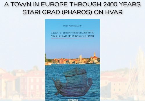 "Promocija knjige Sveina Mønneslanda ""A town in Europe through 2400 years - Stari Grad (Pharos) on Hvar"""