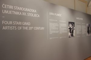 Four Stari Grad artists of the 20th century