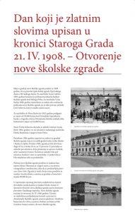 110 years of school building in Stari Grad