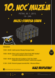 Night of museums 2015 in Stari Grad Museum