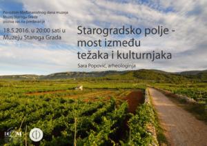 Sara Popović: Starogradsko polje - most između težaka i kulturnjaka