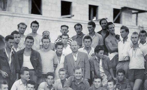 ing. Vanja Žanko - Winery in Stari Grad from 1948 to 1960
