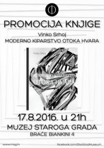"Presentation of monograph by Vinko Srhoj ""Modern sculpture of island Hvar"""