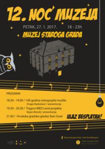 Noć muzeja 2017. u Muzeju Staroga Grada