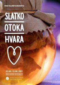 Hvar island's desserts