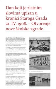 110 years of school building in Stari Grad