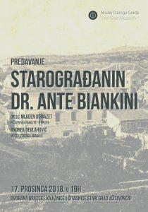 Dr Ante Biankini from Stari Grad