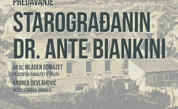 Starograđanin dr. Ante Biankini