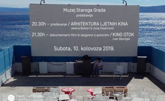 On summer cinemas in Stari Grad Museum